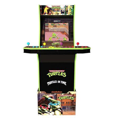 ARCADE 1UP - Arcade 1Up Teenage Mutant Ninja Turtles with Riser