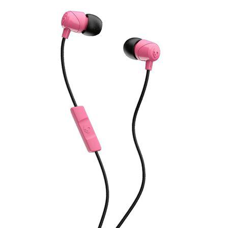 SKULLCANDY - Skullcandy Jib Pink/Black/Pink with Mic 1 In-Ear Earphones