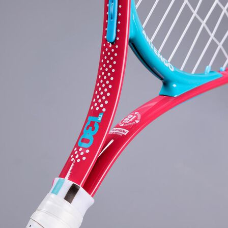 "ARTENGO - Kids' 21"" tennis racket tr130 - pink"