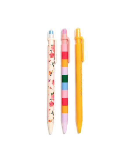 BAN.DO - ban.do Write On Mechanical Pencil Set Coming Up Roses