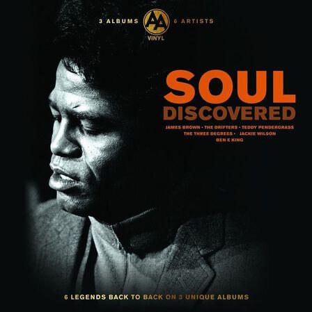 BELLEVUE PUBLISHING & ENTERTAINMENT - Discovered Soul (3 Discs)   Various Artists
