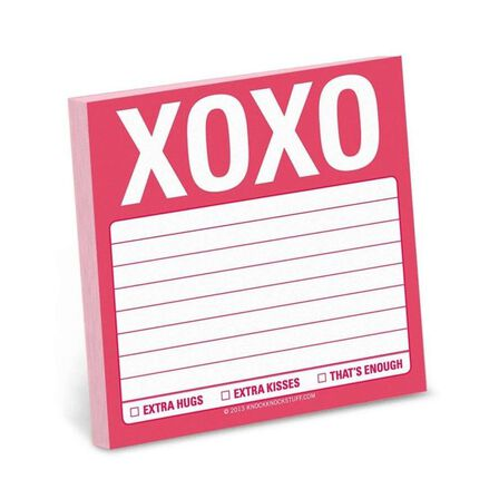 KNOCK KNOCK - Knock Knock Xoxo Sticky Note