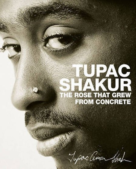 POCKET BOOKS USA - Tupac Shakur The Rose That Grew From Concrete