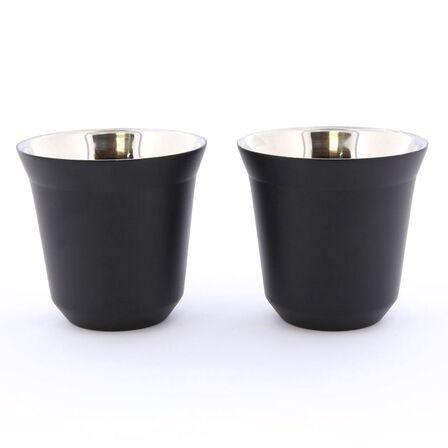 ROVATTI - Rovatti Pola 85ml Black Stainless Steel Cup