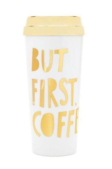 BAN.DO - Ban.Do Hot Stuff Thermal Mug But First Coffee Sp Ed