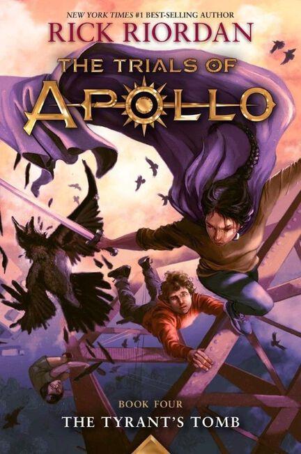 DISNEY PRESS USA - The Tyrant's Tomb - Trials Of Apollo Book 4