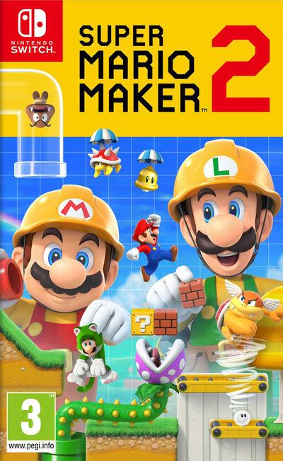NINTENDO - Super Mario Maker 2 [Pre-owned]