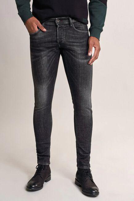 Salsa Jeans - Black Clash skinny premium wash jeans with wear effect