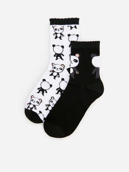 Reserved - White 2 Pack Of Socks, Kids Girl