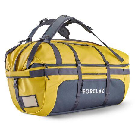 QUECHUA - 80L  Trekking Transport Bag Extend 80 to 120 L, Honey