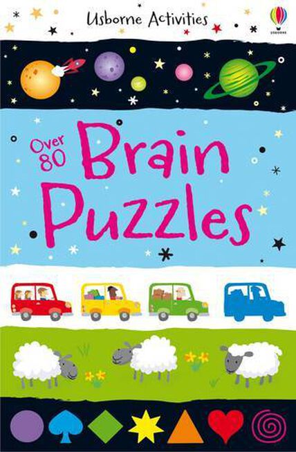 USBORNE PUBLISHING LTD UK - Over 80 Brain Puzzles