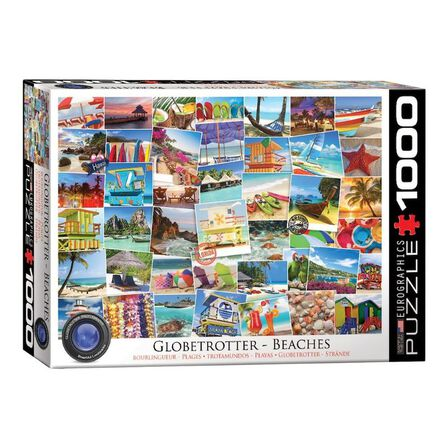 EUROGRAPHICS - Eurographics Globetrotter Beaches Jigsaw Puzzle 1000 Pcs