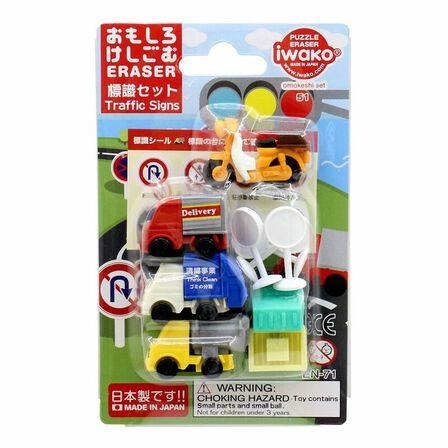 IWAKO - Iwako Traffic Signs Erasers