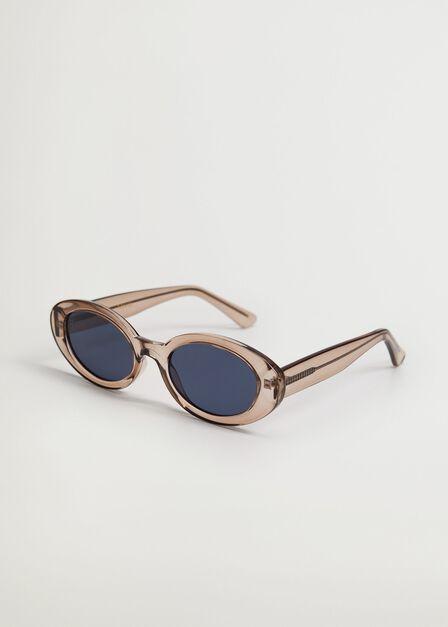 Mango - grey Clear frame sunglasses, Women