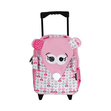 LES DEGLINGOS - Coquelicos the Mouse Medium Trolley Backpack