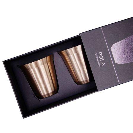 ROVATTI - Rovatti Pola Stainless Steel Cup Bronze 175ml