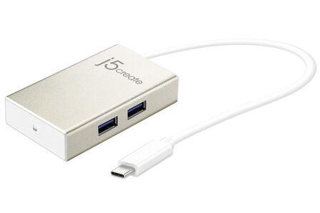 J5 CREATE - j5create USB-C 4-Port Hub