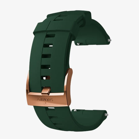 SUUNTO - Suunto 24mm Athletic 4 Silicone Strap Forest Copper Medium