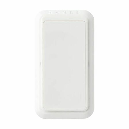 HANDL NEW YORK - Handl New York Solid Grip & Stand White for Smartphones