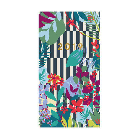 PORTICO DESIGN LTD - Portico Designs Patternology Slim Diary Floral Stripe