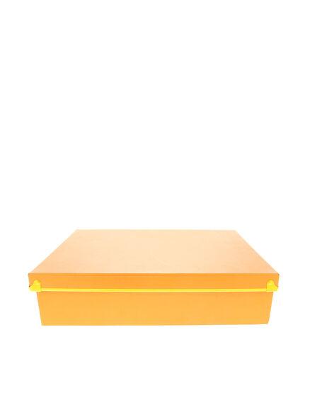DESIGN IDEAS - Frisco Paperbox Orange W/Yellow