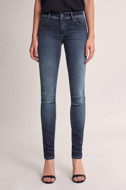 Salsa Jeans - Blue Push Up Wonder slim jeans with studs