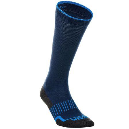 WEDZE - EU 39-42  100 Adult Ski Socks, Galaxy Blue
