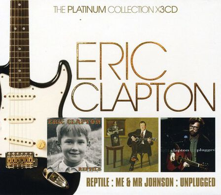 WARNER MUSIC - Platinum Collection (3 Discs) | Eric Clapton