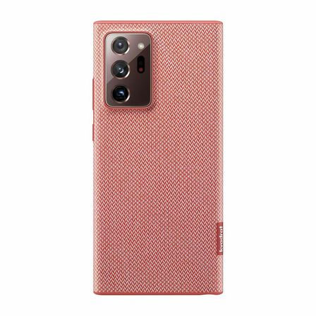 SAMSUNG - Samsung Canvas Kvadrat Cover for Galaxy Note20 Ultra Red