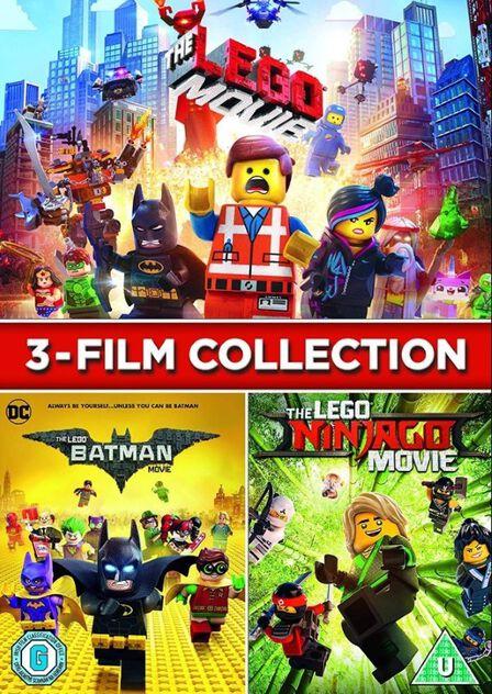 WARNER HOME VIDEO - LEGO 3 Film Collection [3 Disc Set]
