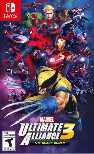 NINTENDO - Marvel Ultimate Alliance 3 - The Black Order [Pre-owned]