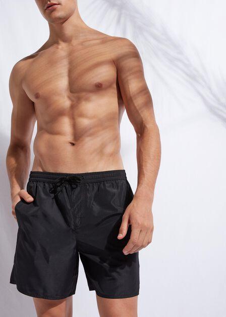 Calzedonia - BLACK Men's Boxer Swim Shorts Formentera
