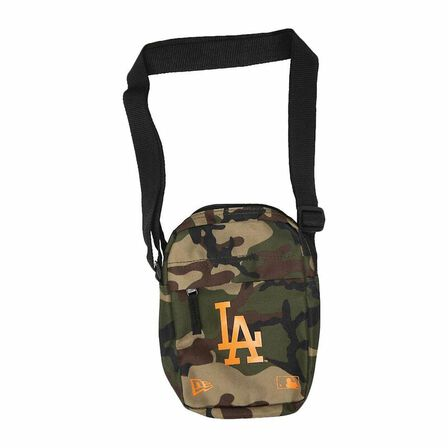 NEW ERA - New Era mlB La Dodgers Side Bag Woodland Camo