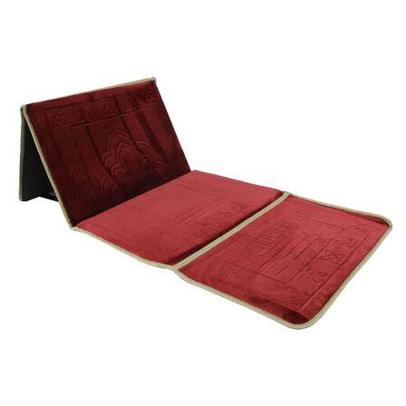 SUNDUS - Sundus Most Useful Foldable Prayer Mat Maroon