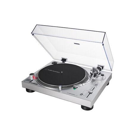 AUDIO TECHNICA - Audio Technica LP120X Silver Turntable with USB