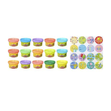 HASBRO - Play Doh 1 oz 15 Count Bag
