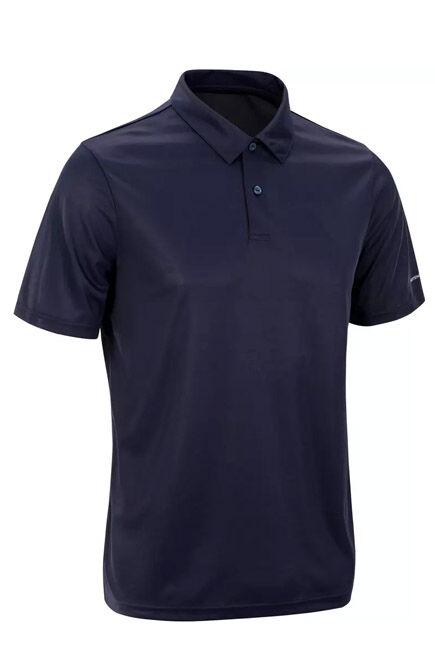 ARTENGO - Dry 100 Tennis Polo Shirt - Navy, M