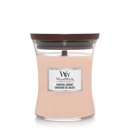 WOOD WICK - Woodwick Candle Hourglass Coastal Sunset [Medium]