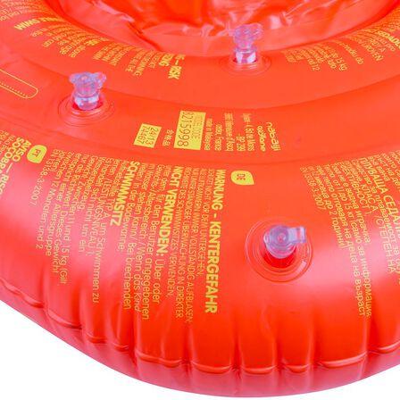 NABAIJI - Inflatable baby seat swim ring, 11-15 kg orange