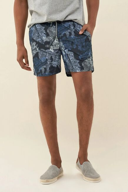 Salsa Jeans - Blue Swimming shorts with print