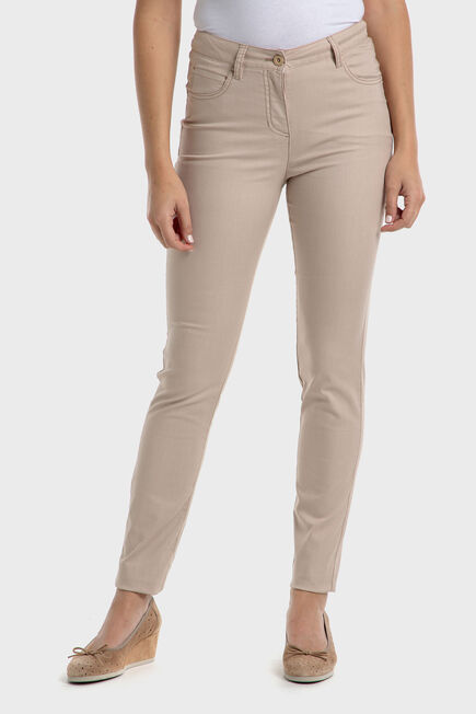 Punt Roma - Beige trousers