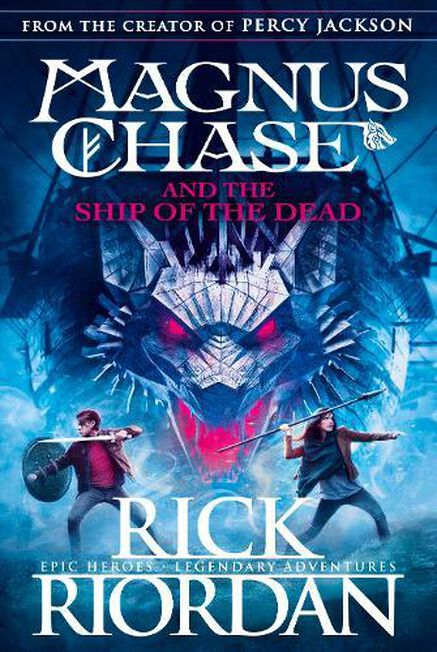 PENGUIN BOOKS UK - Magnus Chase and the Ship of the Dead (Book 3)