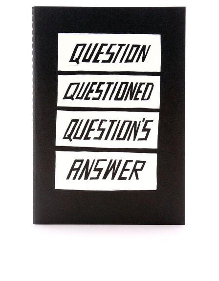 USTUDIO DESIGN LTD - Ustudio Questions Answered Bigger Smaller Funnier A5 Notebook