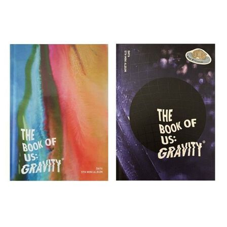 JYP ENTERTAINMENT - Day6 The Book Of Us Gravity 5Th Mini Album | Day6