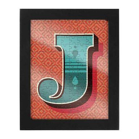 RIDLEYS - Ridleys Alphabet Jigsaw Puzzle with Frame Letter J