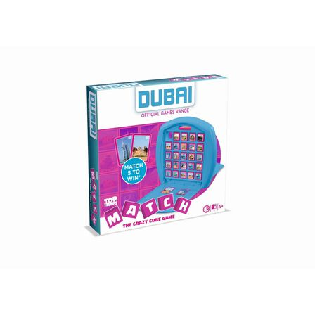 WINNING MOVES - Winning Moves Top Trumps Match Dubai Card Game
