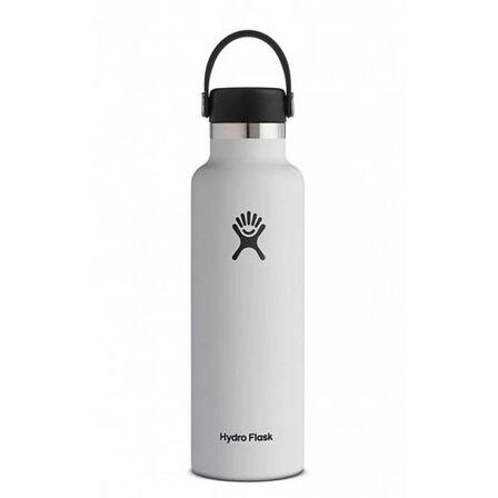 HYDRO FLASK - Hydro Flask Vacuum Bottle White Standard Mouth 620ml