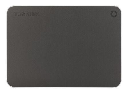 TOSHIBA - Toshiba Canvio Premium 1TB HDD Grey