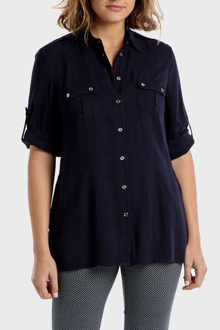 Punt Roma - Navy blue shirt