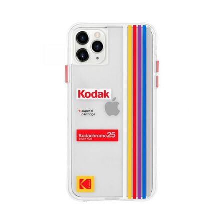 CASE-MATE - Case-Mate Kodak Case Striped Kodachrome Super 8 for iPhone 11 Pro Max